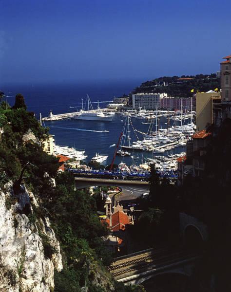 Photograph - Monaco Harbor by John Bowers