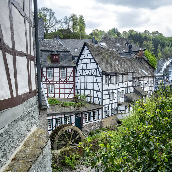 Photograph - Monschau In Germany by Jeremy Lavender Photography