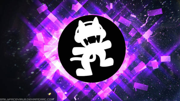 Fractal Digital Art - Monstercat by Super Lovely