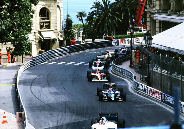 Photograph - Monte Carlo Casino Corner by John Bowers