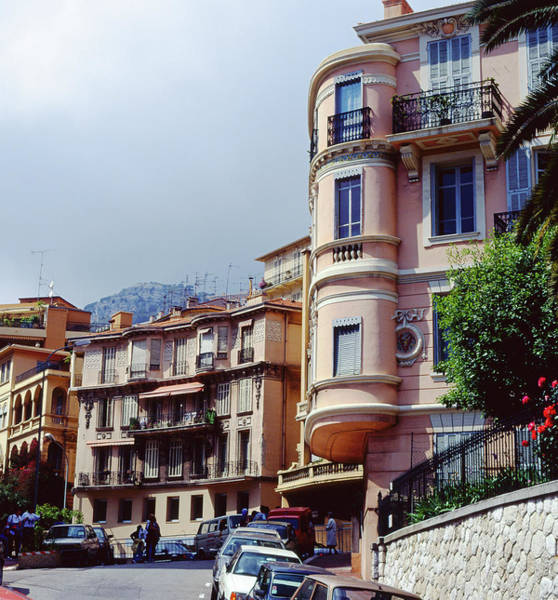 Photograph - Monte Carlo Streets by John Bowers