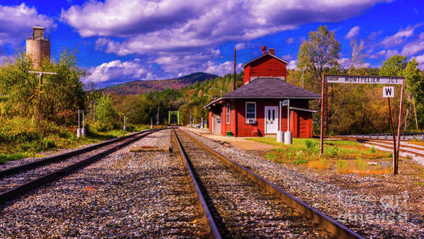 Photograph - Montpelier Vermont by New England Photography