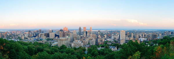 Photograph - Montreal Panorama by Songquan Deng