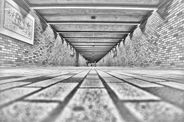 Wall Art - Photograph - Montreal Subway by Valentino Visentini