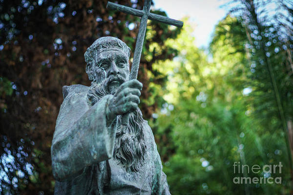 Photograph - Monument To Fray Pablo De Cadiz Alameda Apodaca Cadiz Spain by Pablo Avanzini