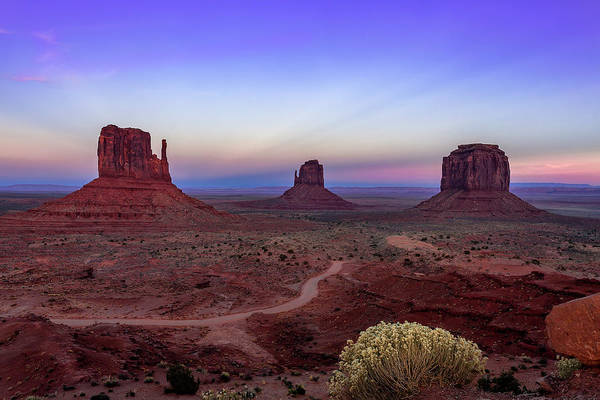Wall Art - Photograph - Monument Valley Evening by Andrew Soundarajan