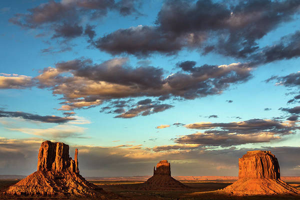 The Mitten Photograph - Monument Valley by James Marvin Phelps