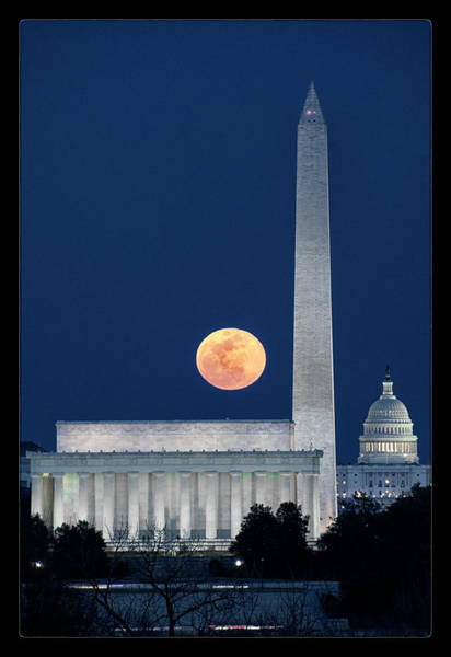 Wall Art - Photograph - Monumental Moon by Robert Fawcett