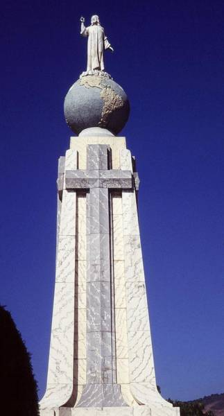 Monumento Al Divino Salvador Del Mundo Art Print