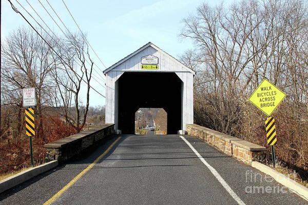 Photograph - Mood's Covered Bridge by Ken Keener