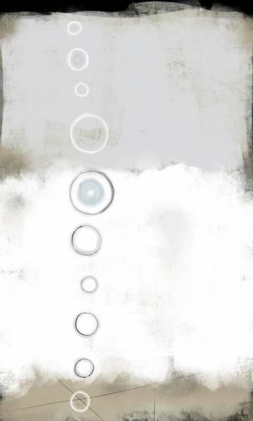 Zen Digital Art - Moon Phase by Kathryn Humphrey