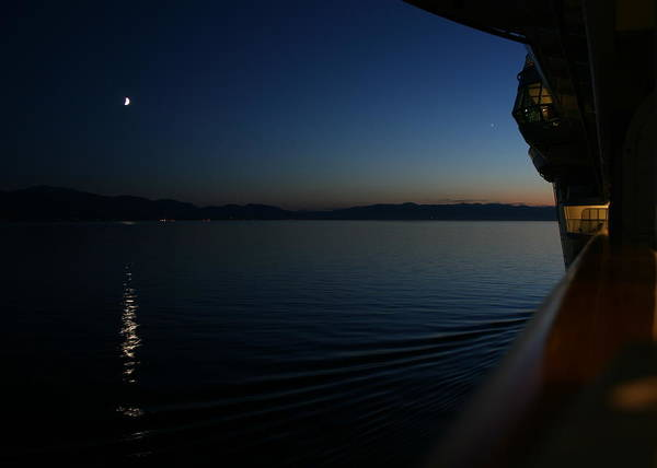 Photograph - Moonlit Passage by James Reed