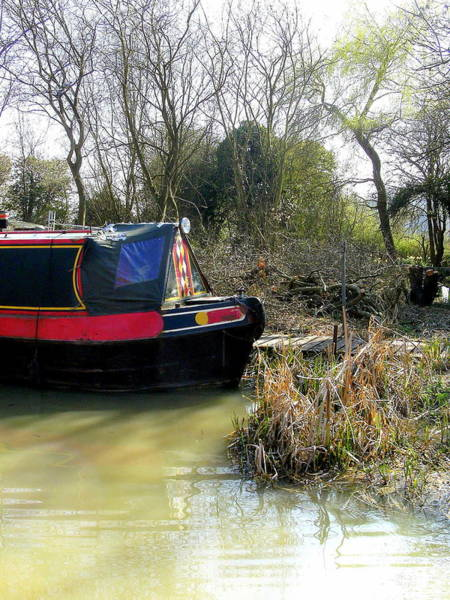 Wall Art - Photograph - Mooring In England by Mindy Newman