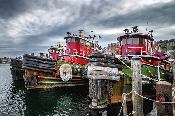 Photograph - Moran Towing Tugboats by Robert Clifford