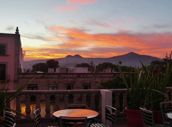 Morelia Sunset Art Print