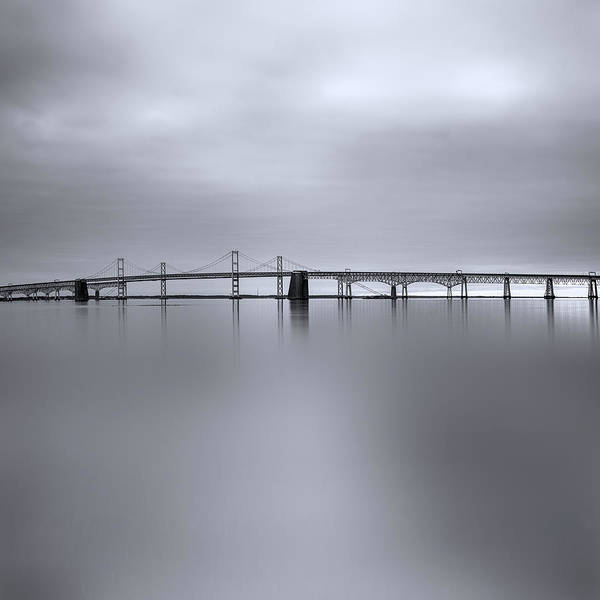 Chesapeake Bay Photograph - Morning Calm by Robert Fawcett