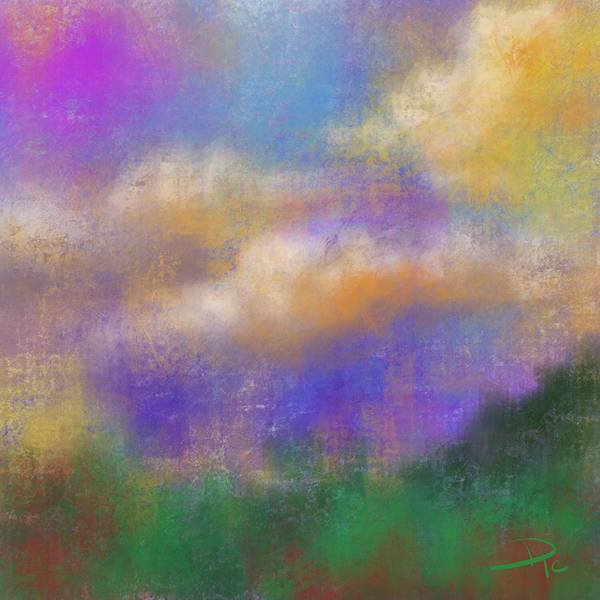 Wall Art - Digital Art - Morning Hue by David G Paul