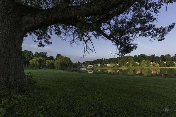Onondaga Photograph - Morning In The Park by Everet Regal