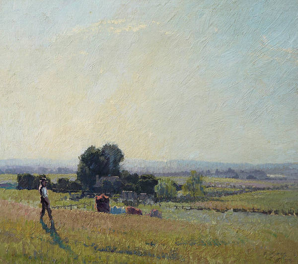 Painting - Morning Light by Elioth Gruner