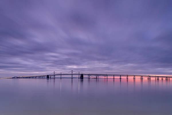 Chesapeake Bay Photograph - Morning On The Bay by Robert Fawcett