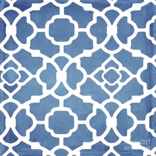 Dome Painting - Moroccan Blues by Mindy Sommers