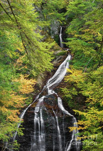 Photograph - Moss Glen Falls by Sharon Seaward