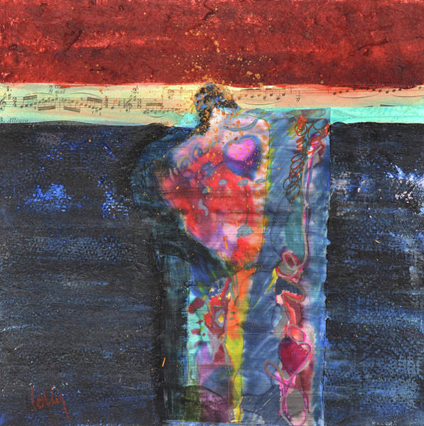 Wall Art - Mixed Media - Mother And Child by Lolly Owens