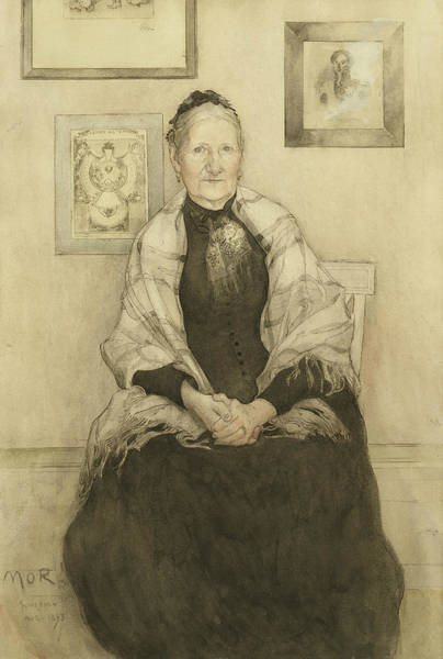 Painting - Mother by Carl Larsson