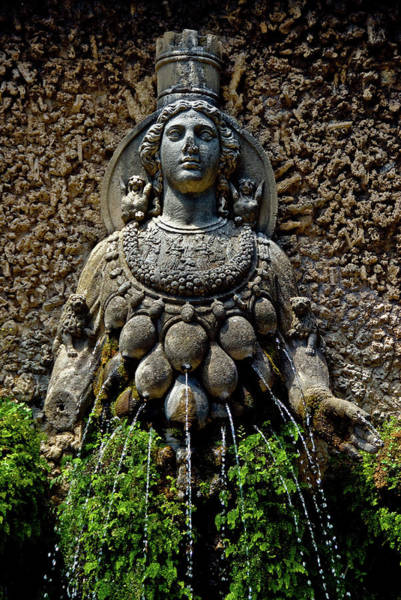 Photograph - Mother Earth Statue  by Harry Spitz
