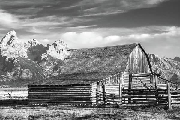 Photograph - Moulton Homestead - Barn by Colleen Coccia