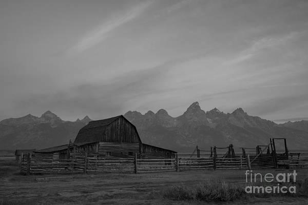 Wall Art - Photograph - Moulton Ranch Sunrise At Mormon Row  by Michael Ver Sprill