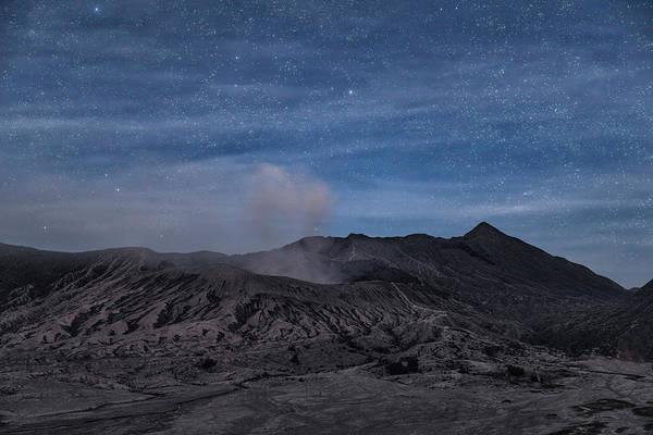 Rauch Wall Art - Photograph - Mount Bromo With Stars - Java by Joana Kruse