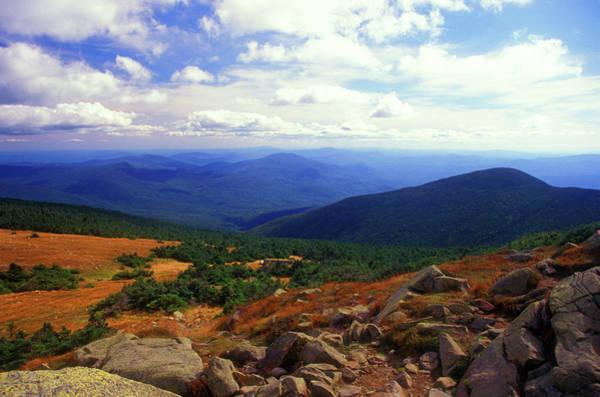 New Hampshire Photograph - Mount Moosilauke Summit  by John Burk