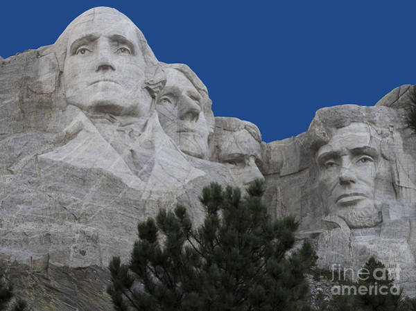Thomas Jefferson Photograph - Mount Rushmore by Juli Scalzi