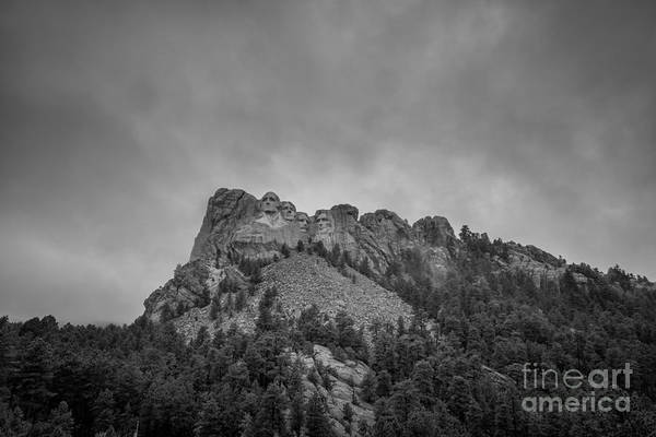 Rushmore Photograph - Mount Rushmore South Dakota by Michael Ver Sprill