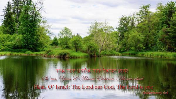 Photograph - Mountain Lake Prayer by Tikvah's Hope