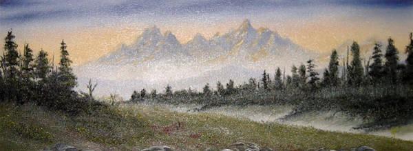 Anglin Wall Art - Painting - Mountain Light by Kalib Anglin