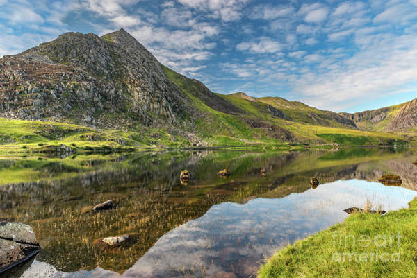 Snowdonia Wall Art - Photograph - Mountain Reflections by Adrian Evans