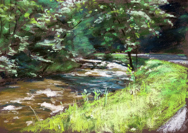 Painting - Mountain Stream by Christopher Reid