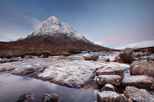 Photograph - Mountain Sunrise by Grant Glendinning