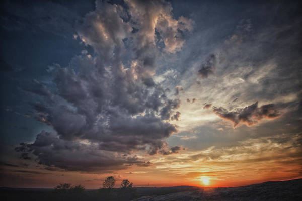 Photograph - Mountain Sunset  by Mike Dunn
