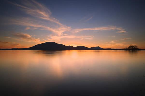 Wall Art - Photograph - Mountain Sunset II by Ricky Barnard