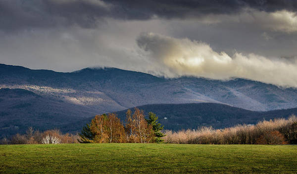 Photograph - Mountain Weather by Robert Mitchell