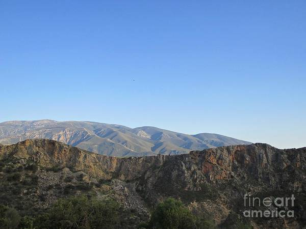 Photograph - Mountains Around Lanjaron by Chani Demuijlder