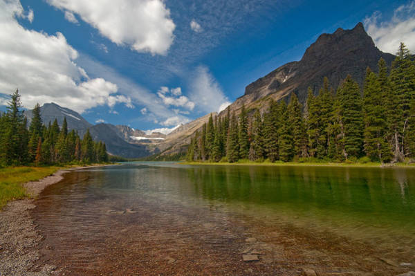 Photograph - Moutain Lake by Sebastian Musial
