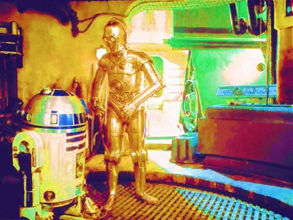 Star Wars Episode 3 Wall Art - Digital Art - Movie Star Wars Art by Larry Jones