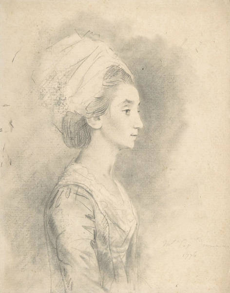 Drawing - Mrs. Downman by John Downman