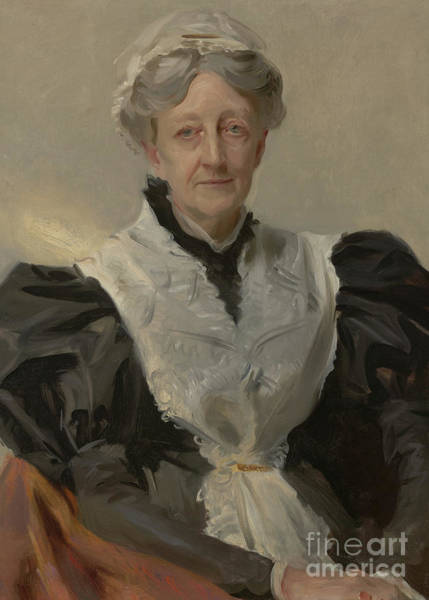 Wall Art - Painting - Mrs Frederick Mead by John Singer Sargent