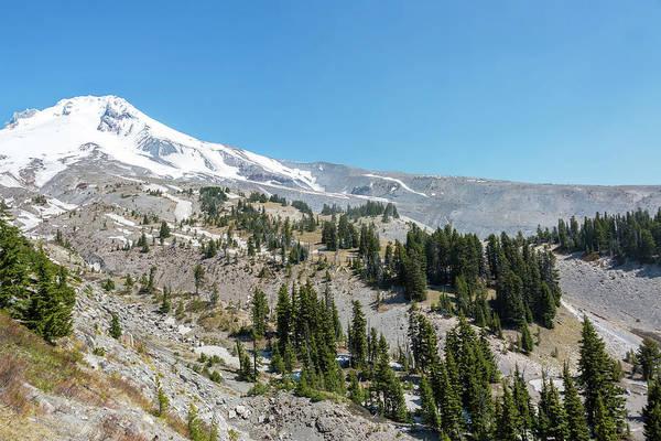 Timberline Photograph - Mt Hood Peak View by Jess Kraft
