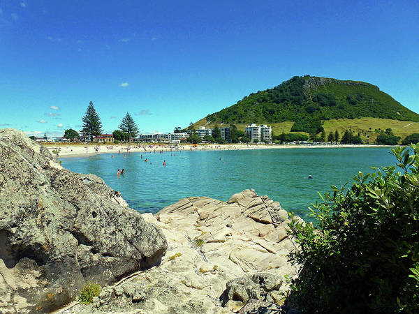 Photograph - Mt Maunganui Beach 13 - Tauranga New Zealand by Selena Boron